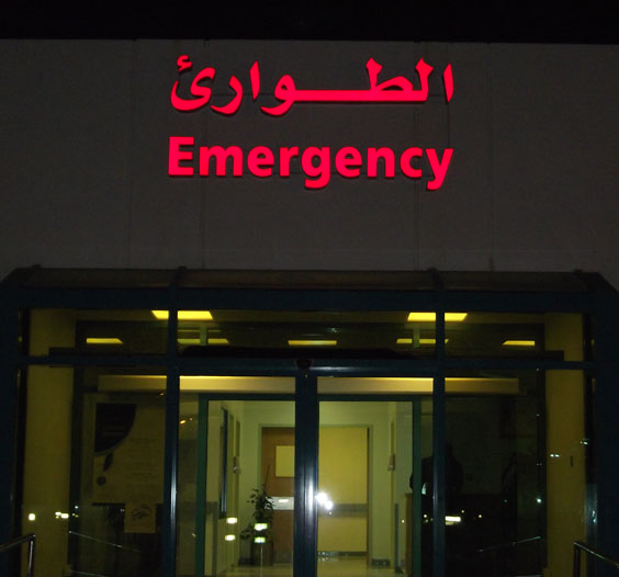 <h2>Emergency night</h2><br/>
