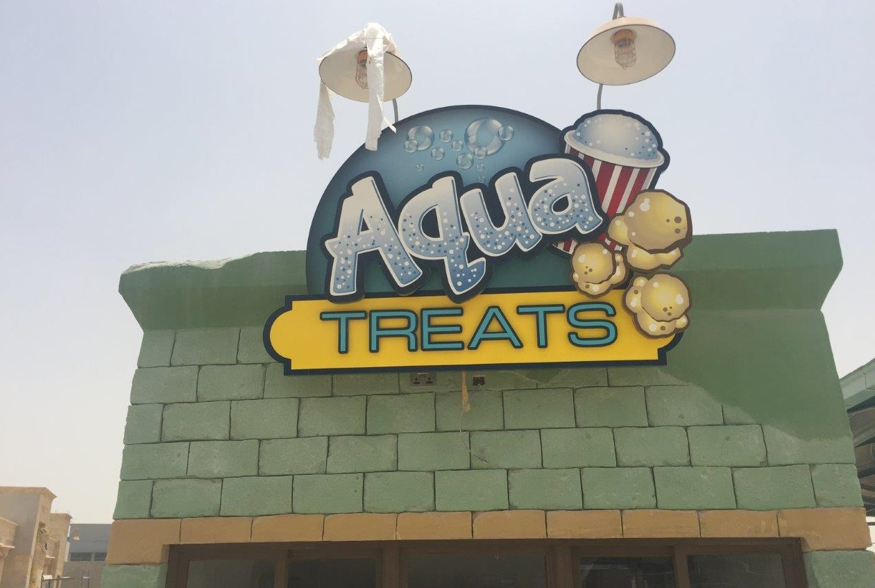 <h2>ADVENTURE - FOOD KIOSK _ AQUA TREATS</h2><br/>